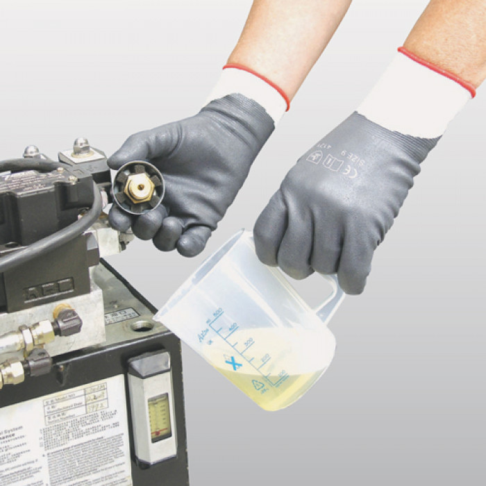 Foamed Nitrile Glove - Fully Coated