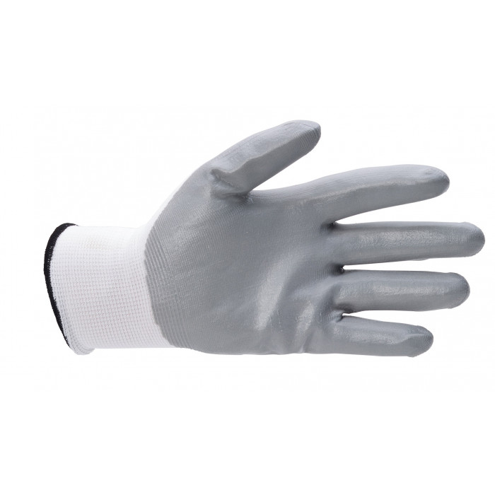 Foamed Nitrile EN388 Gloves - Palm Coated