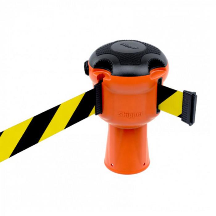 Orange Skipper Unit with Black & Yellow Tape