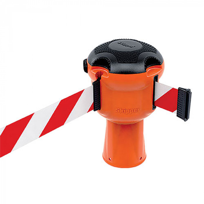 Orange Skipper Unit with 9mtr Red and White Tape