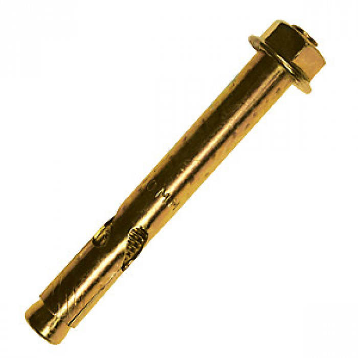 Sleeve Anchors Hex Bolt Zinc Plated and Yellow Passivated