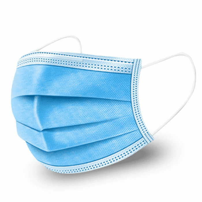 Standard Surgical/Medical Face Mask 3 Layer - Pack 50