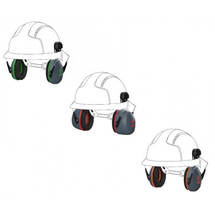 Sonis Low-High Performance Ear Defenders Helmet Mounted