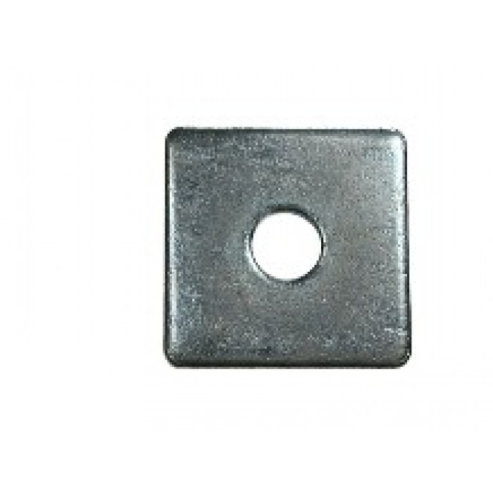 Square Plate Washers BZP - Bright Zinc Plated