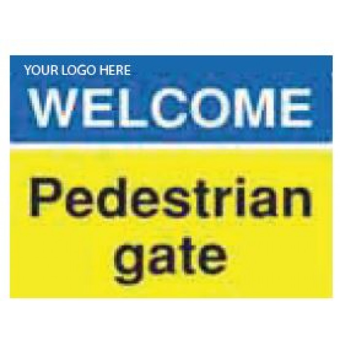 Welcome Gate Sign