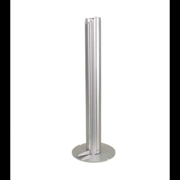 Stainless steel pedal sanitiser dispenser
