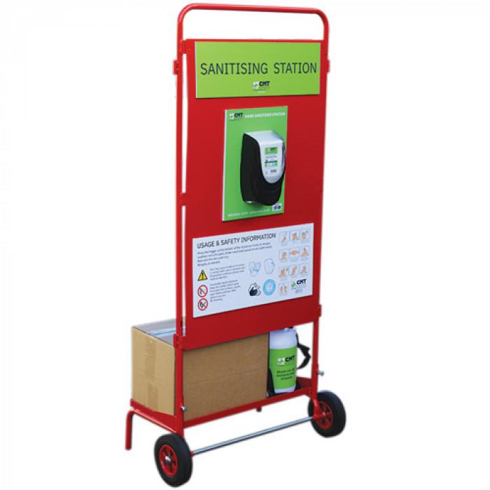 Mobile sanitising station