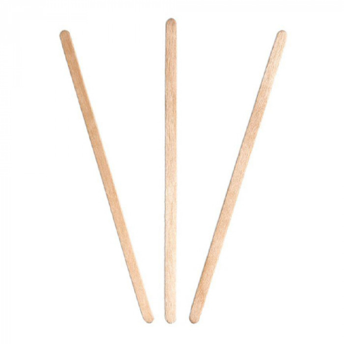 140mm Wooden Coffee Stirrer, Pack Size: 1000