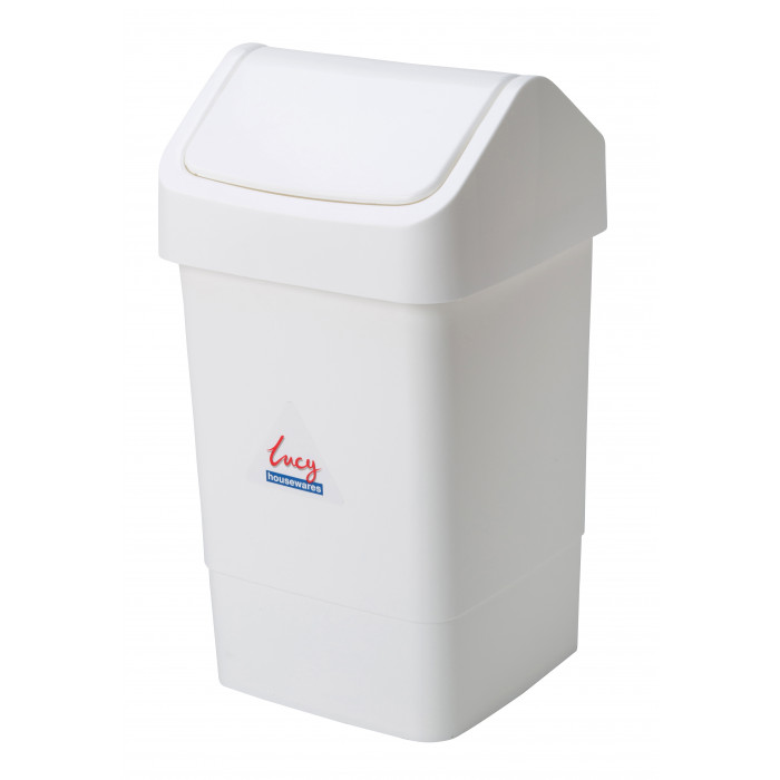 50 Litre Plastic Household Waste/Paper Swing Top Bin