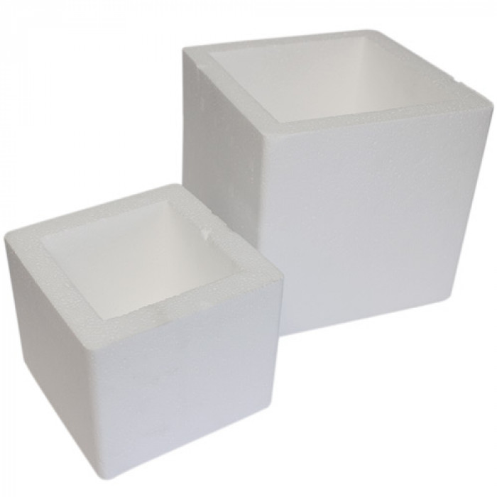 "4"" Polystyrene Test Cube Mould"