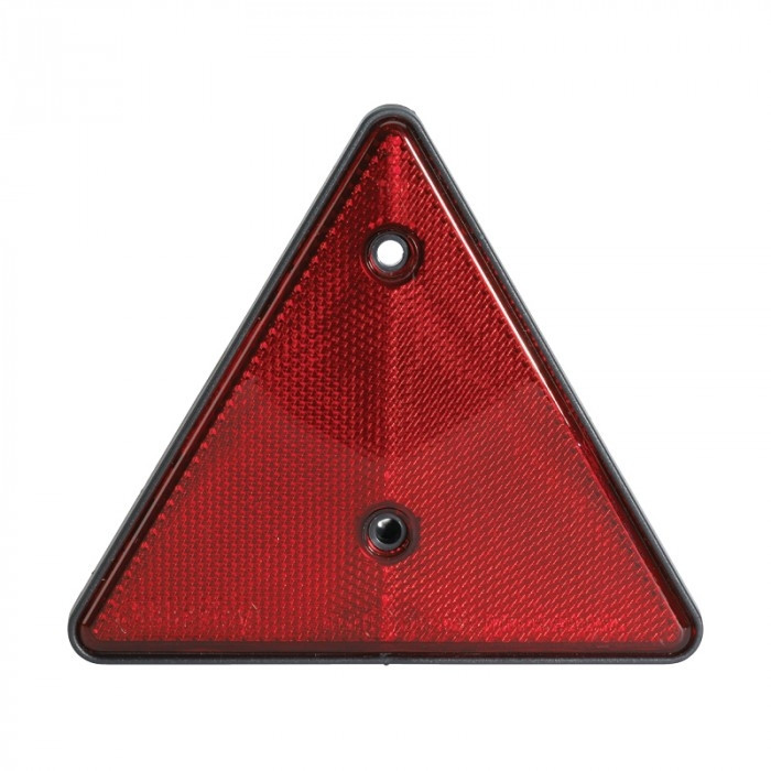 Red Triangle Reflector