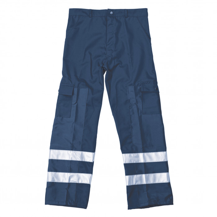 Ballistic Trousers 3/4 Protection - Navy