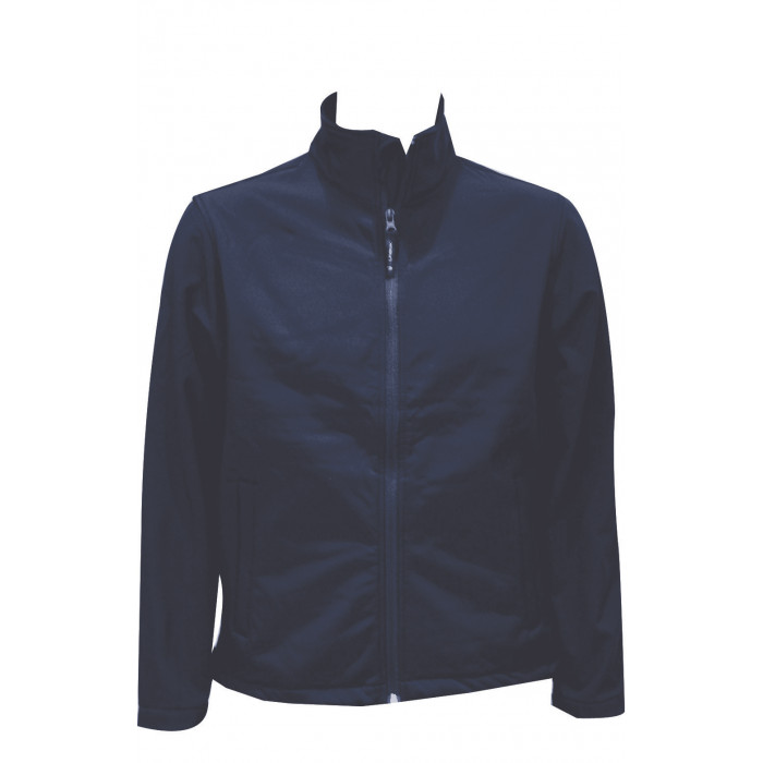 Premium Full Zip Softshell Jacket - Navy