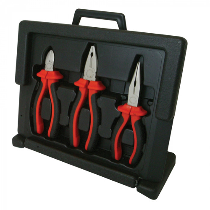 VDE Pliers Set – 3 Piece