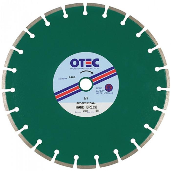 Medium/Hard Brick Professional Diamond Blade | OTEC W7SC