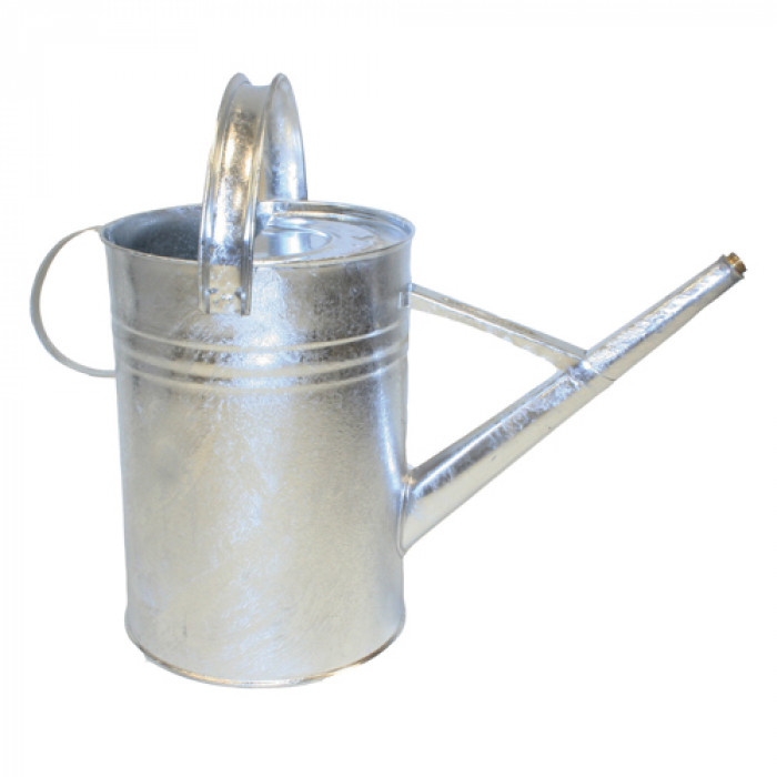 13L Galvanised Watering Can