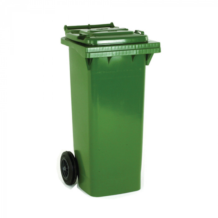 240 Litre Green Wheelie Dustbin