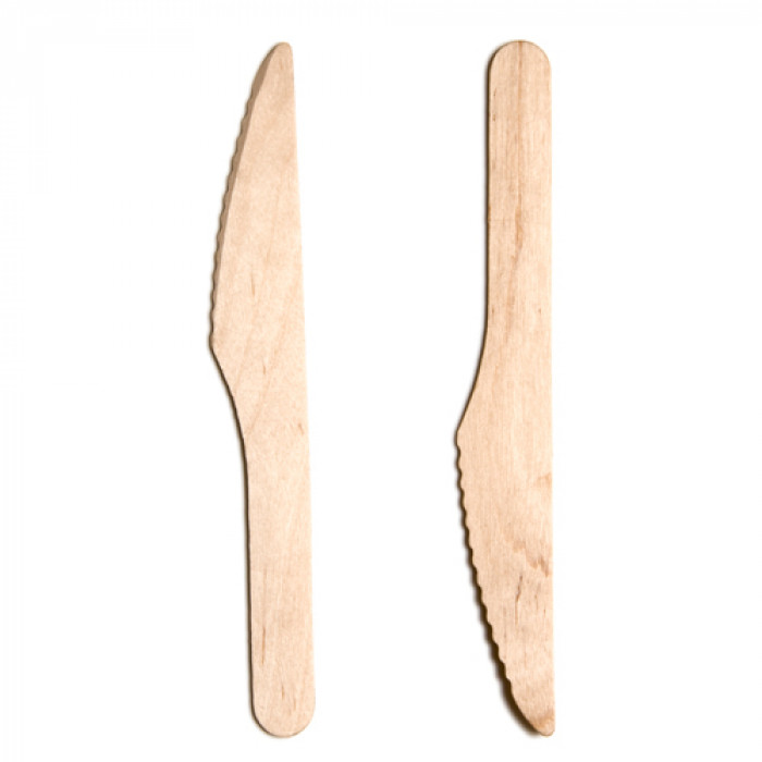 "Birchwood Knives, 165mm/ 6.5"" tall, Eco-friendly, Pack Size: 100"