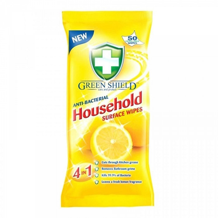 4 In 1 Household Anti-Bacterial Wipes