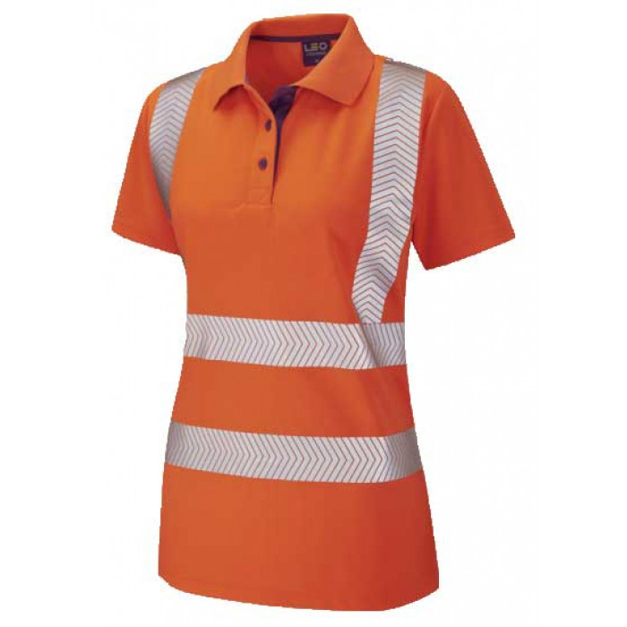 Hi Vis Women's Short Sleeve Polo Shirt | Women's Safety Clothing | CMT Group