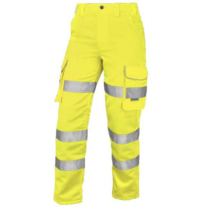 Women's Yellow Polycotton Trousers | Women's Safety Clothing | CMT Group