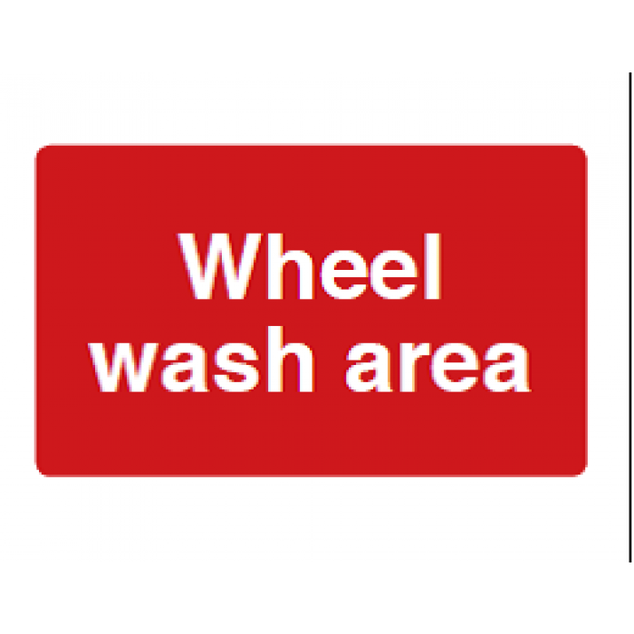 Wheel Wash Area
