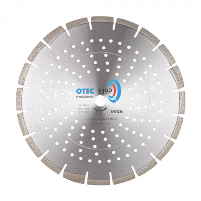 OTEC X19P Professional Multipurpose/Green Concrete Blade