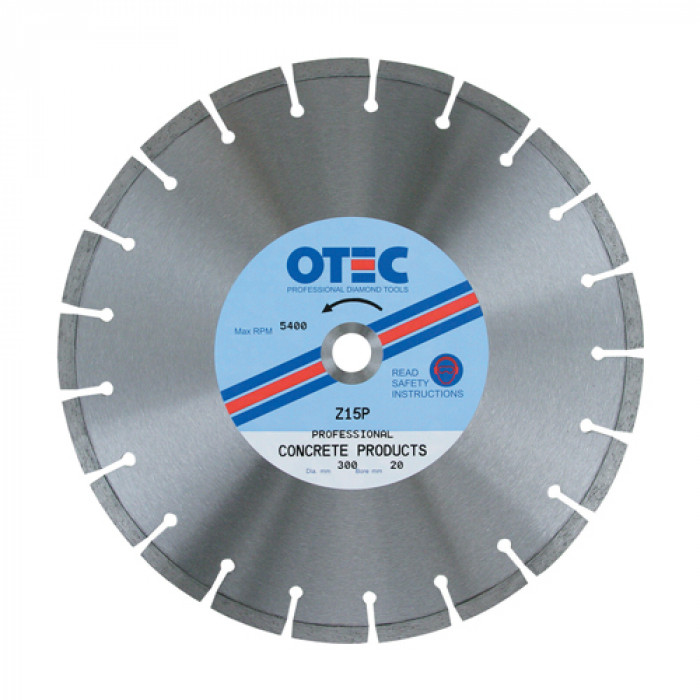 Concrete Products Professional Diamond Blade | OTEC Z15P