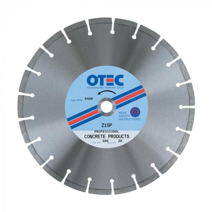OTEC Z15P Professional Concrete Blade 300 / 20 mm
