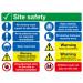 Site Safety Board Rigid PVC A2
